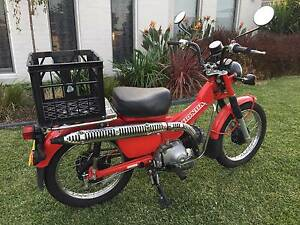 Registered Honda CT 110 in excellent condition Morisset Lake Macquarie Area Preview