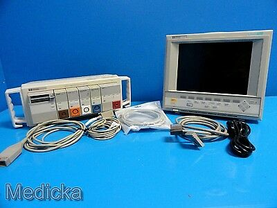 HP V24C M1205A Critical / Cardiac Care Patient Monitor ~ SDN DTM CO CO2 ~ 14565