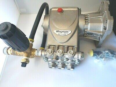 Magnum M2-1313g8 4000 Psi 1 Shaft Pressure Washer Pump W Unloader