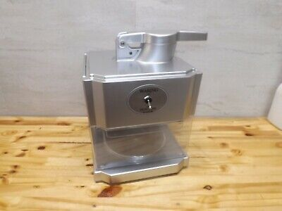 Waring Snow Cone Maker Scm100 Professional Silver Excellent Clean Tested