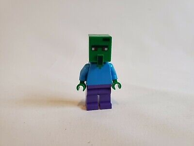 Lego Zombie Villager From 21128 See Pictures! Minecraft