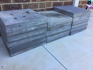 Concrete pavers 400x400x50 Bendigo Bendigo City Preview