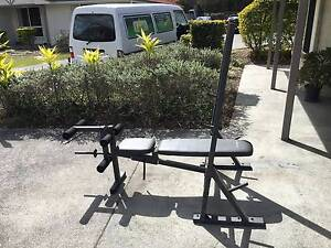 Bench Press Station w Dumbbell Bars and calipers included Virginia Brisbane North East Preview