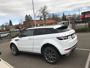 2012 Range Rover Evoque nav ext warranty