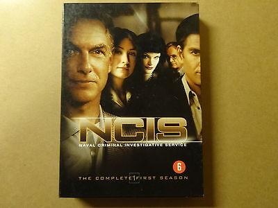 6-DISC DVD BOX / NCIS - NAVAL CRIMINAL INVESTIGATIVE SERVICE - SEIZOEN 1