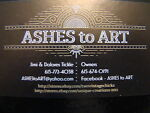 ASHES to ART