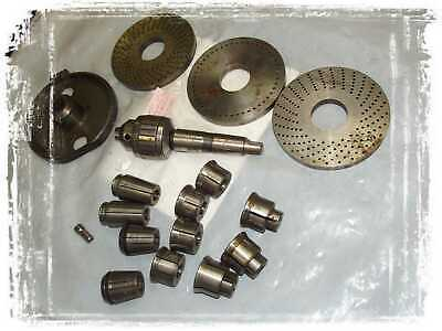 Dividing Plates 6 Wdrill Chuck 0-12 And Some Callets