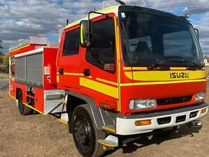 Isuzu FTR800 4x2 Dualcab Firetruck. Direct from Qld Fire & Rescue Inverell Inverell Area Preview
