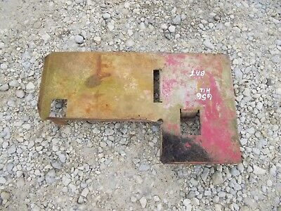 Farmall Ihc 656 Rc High Utility Tractor Original Ih Battery Bottom Base Tray