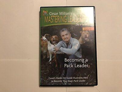 Cesar Millan's  Becoming A Pack Leader Vol. 2 (DVD, 2006) Very Good