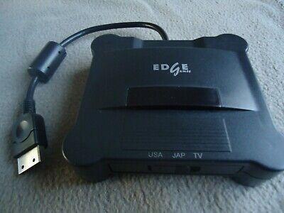 Dreamcast VGA box AV S-VIDEO HD EDGE games USA JAP EURO TV PC moniteur , używany na sprzedaż  Wysyłka do Poland