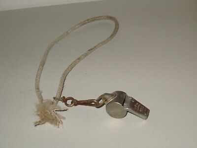 VINTAGE ACME THUNDER WHISTLE - WORKS!! - MADE IN ENGLAND -