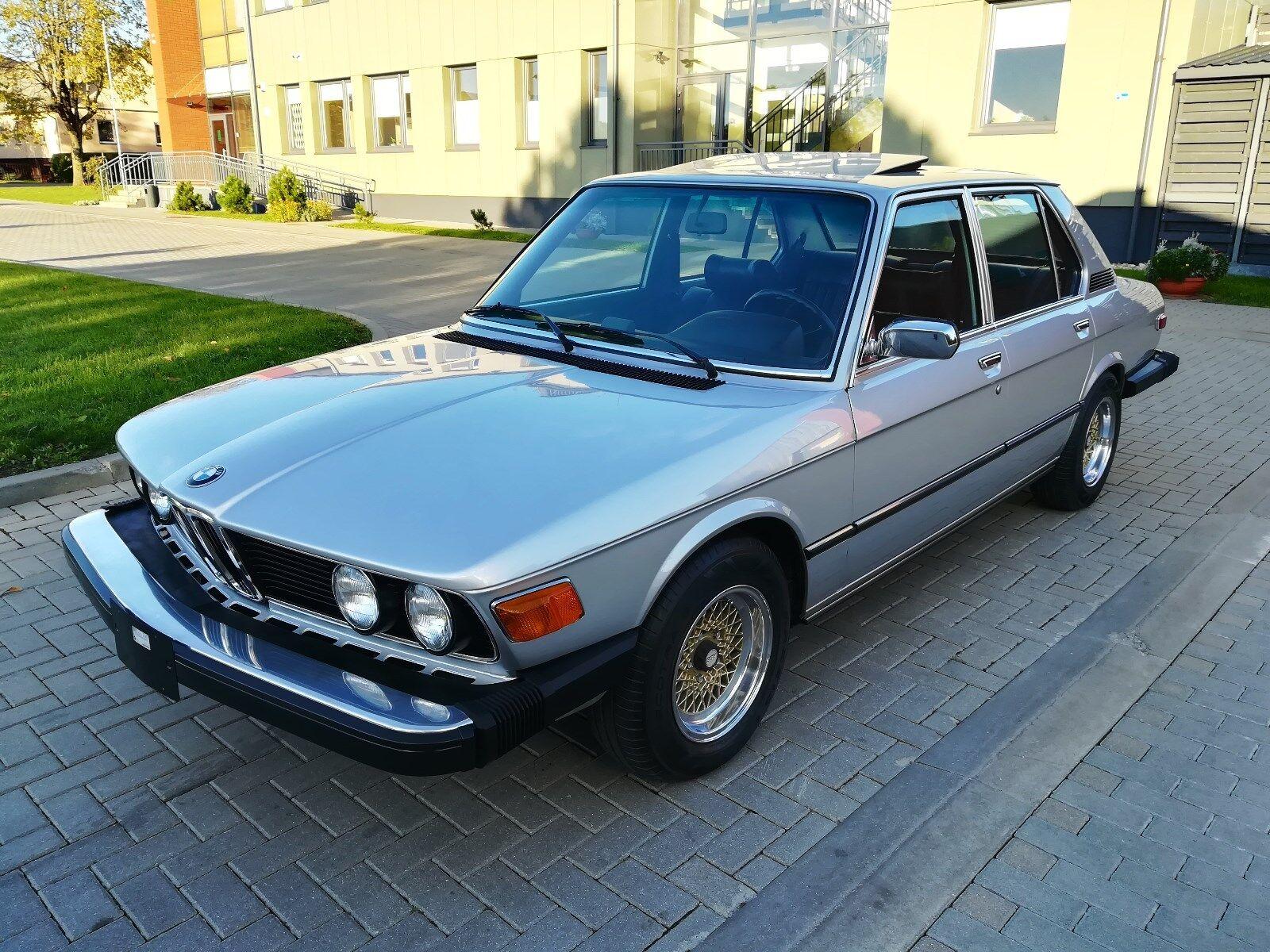 BMW 530i E12 Bj.1978 Oldtimer, Absolut Rostfrei, Vollaustattung, BBS