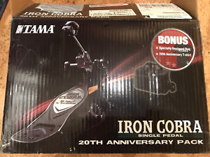 Tama Iron Cobra Bass Drum Power Glide Pedal Anniversary Edition