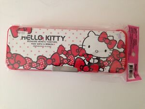 Hello Kitty Sanrio Pencil Case With Double Magnetic Compartments 8f2f2073fb461