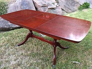Mahogany Regency Extension Table with 6 Chairs and Buffet Stirling Adelaide Hills Preview