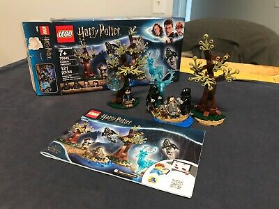 LEGO Harry Potter 75945 Expecto Patronum COMPLETE w box, book