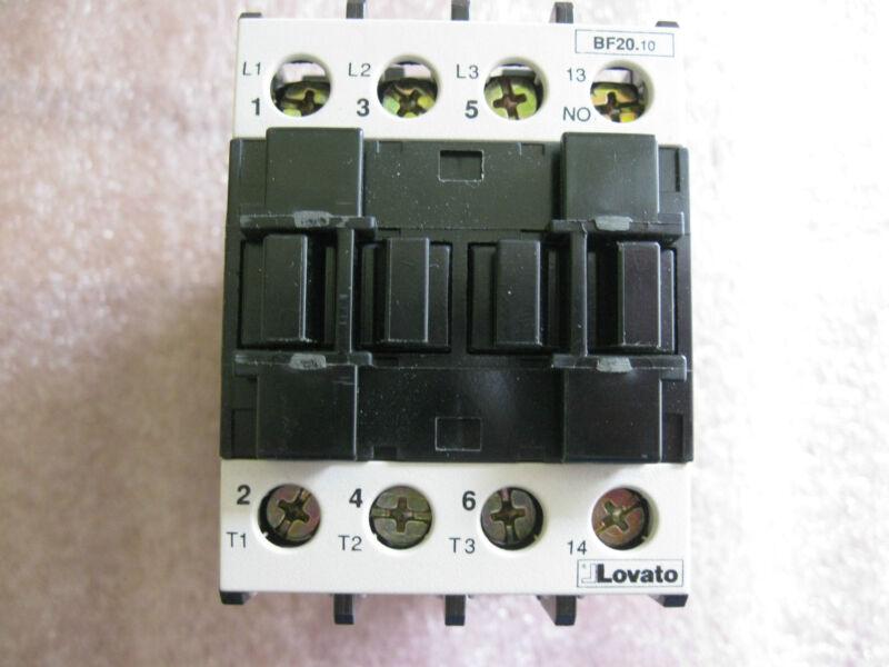 LOVATO BF20.10-120VAC CONTACTOR-NEW