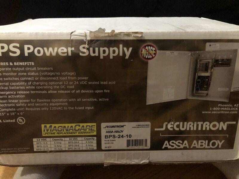 Securitron ASSA ABLOY POWER SUPPLY 24 VDC