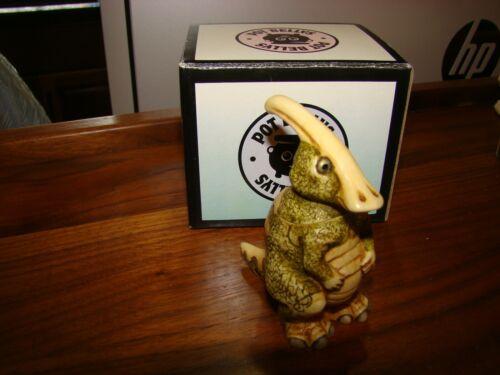 "Harmony Kingdom Pot Bellys  ""Duck Head"" The Parasaurolophus 2001 PBDPA"
