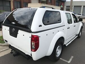 Nissan Navara Canopies in Stock