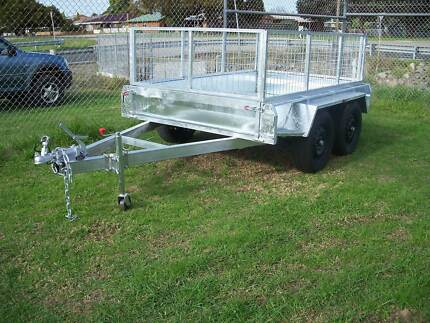 8 x 5 standard galvanised trailer