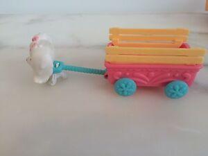 Littlest Pet Shop Dog and Cart set Hawthorn East Boroondara Area Preview