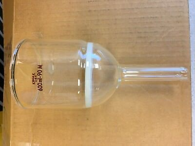 Kimax 600ml Glass Buchner Filter Funnel With Fritted Disc