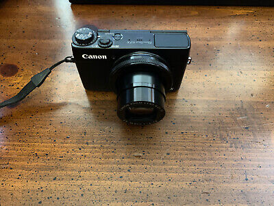 Canon PowerShot G7 X - 20.2MP, WIFI, Digital Camera with Black Case & Charger