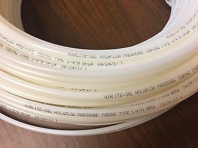 25 Nylon Nylaflow Tubing Tube 14 Type H High Pressure Pneumatic Compressed