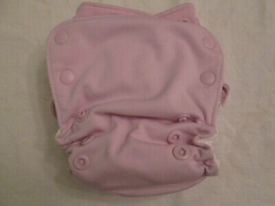 GroVia AIO All In One Cloth Diaper with Snap-in Booster Cosmos Pink 2nd Quality