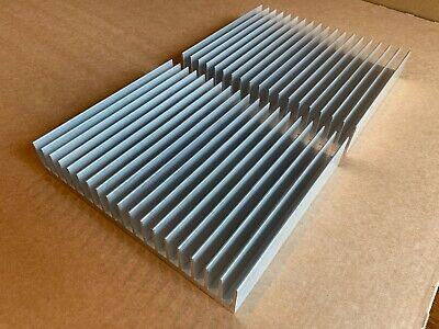 2 X Large Aluminum Heatsink 7.3 X 6.0 X 1.3 185mm X 152mm X 33mm