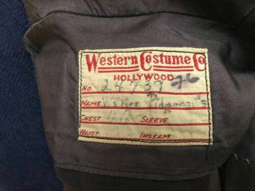 WALTER PIDGEON - DARK COMMAND 1940 - Screen Worn Coat & Trousers - JOHN WAYNE