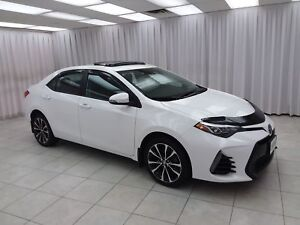 2017 Toyota Corolla XSE SEDAN w/ BLUETOOTH, HEATED LEATHER, NAVI