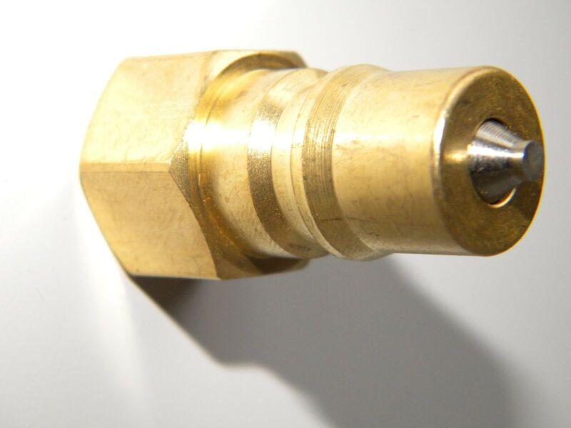 """Carpet Cleaning 1/4"""" Brass PLUG QUICK DISCONNECT"""