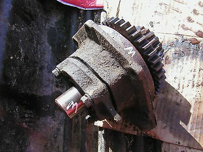 Farmall M Early Sm Tractor Main Transmission Drive Gear Assembly Holder Mount
