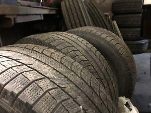 3 Michelin x-ice 255/55/18