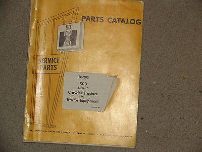 International Ih Farmall Tractor 500 Parts Catalog