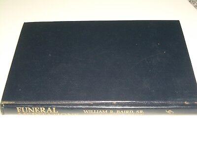 1966 William Baird Sr  Thirteen Funeral Meditations Hc   Death  Loss  Heaven