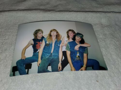 VINTAGE MEGADETH CONCERT PHOTO BACKSTAGE COUNTRY CLUB TAKEN BY ME EARLY 1980s #2