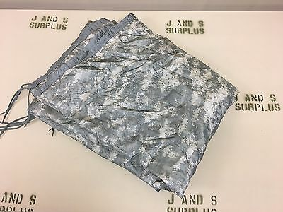 "Genuine US Military Poncho Liner ""Woobie"" ACU camo Grade C Faded USGI Surplus"
