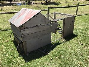 Chicken Coop, chicken tractor with trio of chooks, cage, enclosure Mylor Adelaide Hills Preview