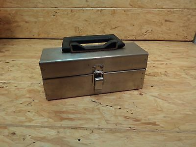 Set Of 7 Ohaus Balancing Scale Brass Calibration Apothecary Weights Case