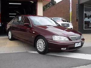 2004 Ford Fairlane Sedan, BA FAIRLANE GHIA. Caldermeade Cardinia Area Preview