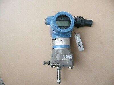 Rosemount 3051 Pressure Transmitter Cg3a22a1am5q4 Max Wp 36 Psi