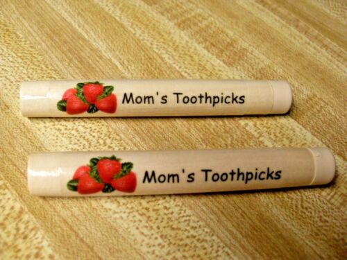 HAND-CRAFTED Personalized GIFT! Custom Holder Toothpicks, Needles, Notes, Smokes