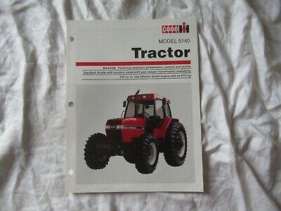 Caseih 5140 Tractor Brochure