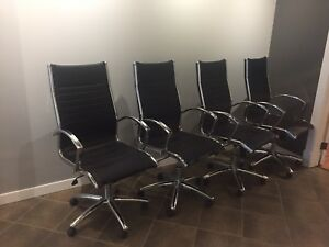 6 Office / Boardroom Chairs