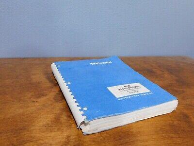 Tektronix 465b Oscilloscope Operating Service Manual With Options