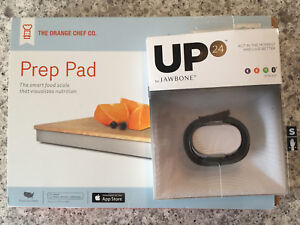 UP24 + Orange Chef Prep Pad Smart Food Scale